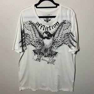 Men's Affliction 2XL Shirt